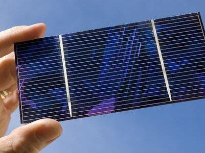 化学所制备柔性可穿戴太阳能电池