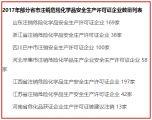 600多家化工企业安全生产许可证被注销(附名单)