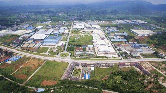中国碳酸钙产业园区全景图