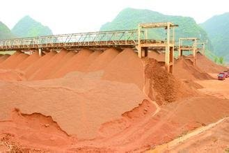 4月份中国进口铝土矿消费量环比增加8.7%