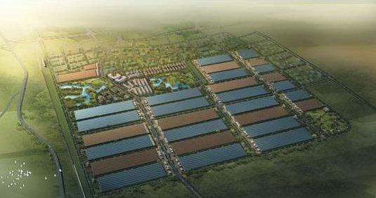 中国陶瓷产业园区全景图