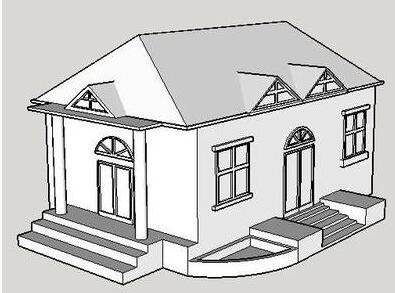 3D打印60平米单层住房 成本仅1万美元