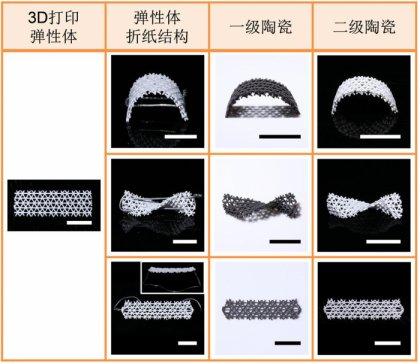 科学家首次实现陶瓷4D打印