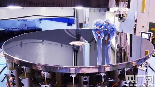 4.03米世界最大口径单体碳化硅反射镜是怎样炼成的?