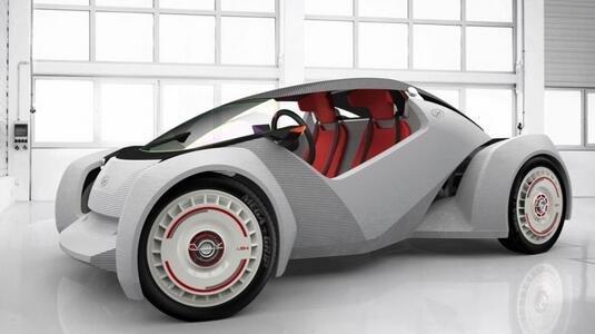 使用3D打印技术制造的电动汽车仅售6.5万元 已在中国进行发售