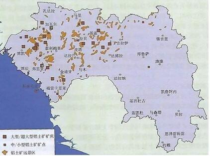 速览│全球铝土矿最丰富的几内亚矿产投资与开发