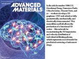 《先进材料》内封面:苏州纳米所在三维碳材料神经支架研究中取得进展