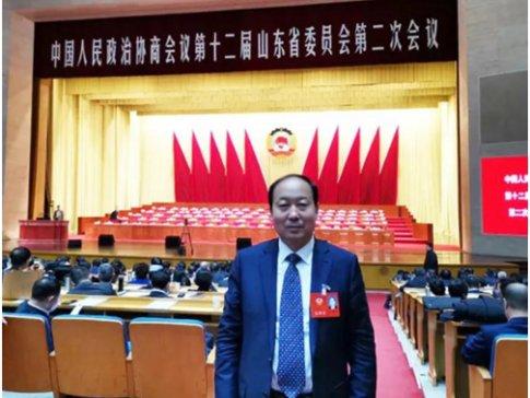 山东省政协常委、华特公司董事长王兆连出席省政协十二届二次会议