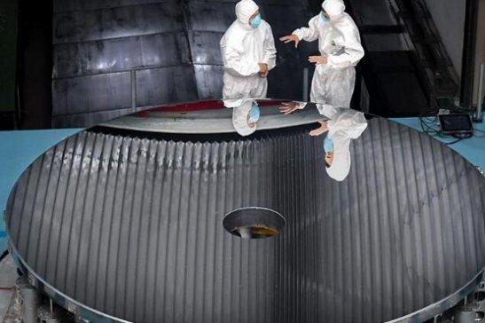 4.03米口径碳化硅反射镜,让宇宙更清晰