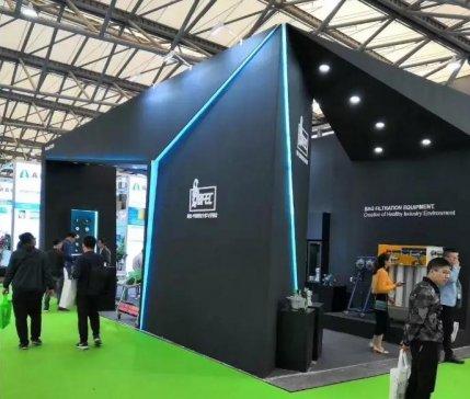 上海袋配携手盛达阳光亮相第十七届北京环保展