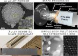 铝合金的新工艺消除了传统挤出工艺的多个步骤