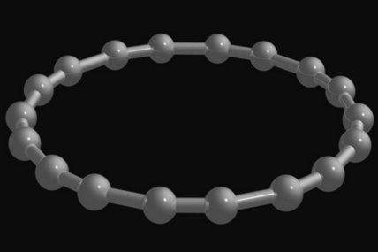 碳家族再添新成员 由18个原子组成的环碳问世
