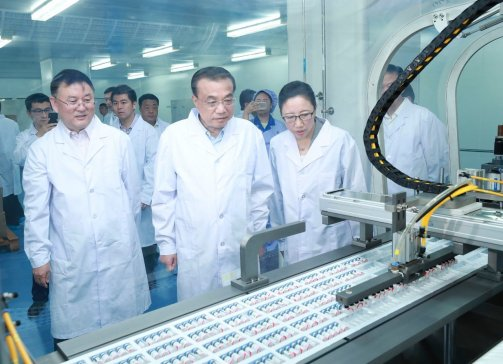 总理考察北方药谷:医药产业前景无限