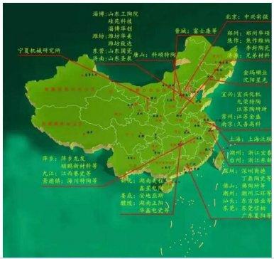 从六大陶瓷地区,看中国陶瓷的发展状况