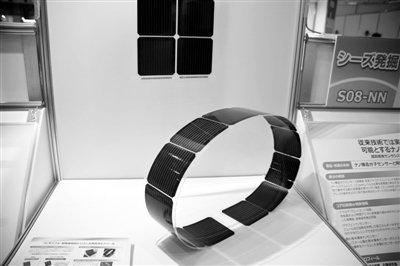 晶体硅太阳能电池模块柔软超轻