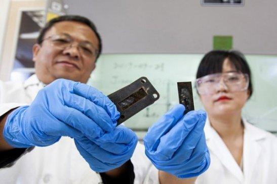 新研发的碳纳米管是制造下一代超音速飞机隔热板的关键材料