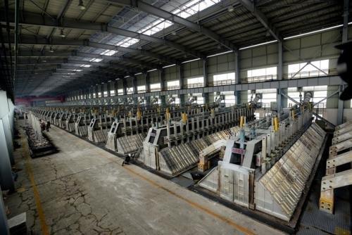 豫联集团1月电解铝产量完成月度计划101%