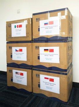 """中国情谊跨越山海,百特""""全球行动""""驰援海外合作伙伴"""