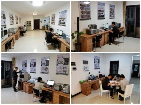 百特郑州办事处乔迁新居,2.0版颗粒测试体验中心万事俱备