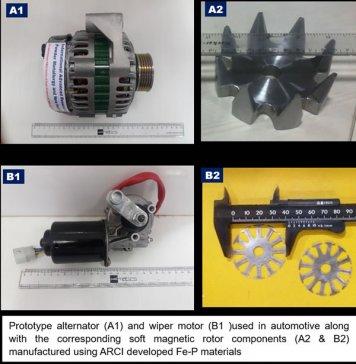 印度研发新工艺制成高磁化强度铁磷合金 可降低汽车部件成本