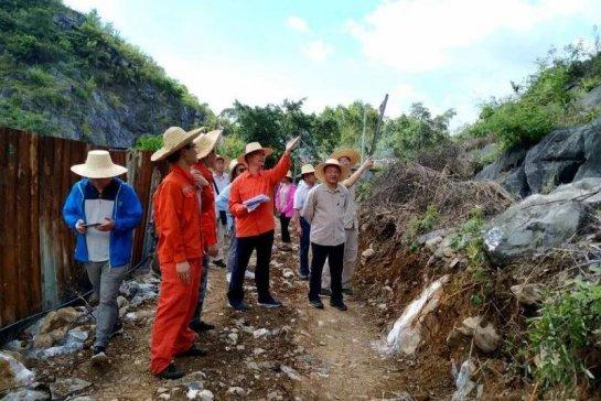 石灰岩资源储量5亿吨!广西来宾市碳酸钙资源勘查项目野外验收获优秀!