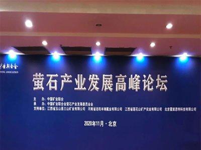 2020萤石产业发展高峰论坛在京召开