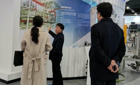 山东大学能源与动力工程学院马春元教授一行来我司考察交流