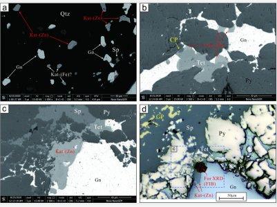 我国科研团队发现自然界新矿物——空锌银黝铜矿
