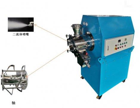 创新不断 高性能细微造粒混合机在苏州兮然研制成功