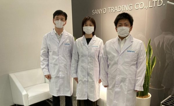 丹东百特与日本三洋贸易公司签订战略合作协议