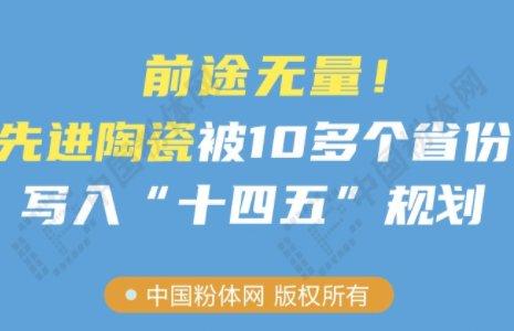 """前途无量!先进陶瓷被10多个省份写入""""十四五""""规划"""