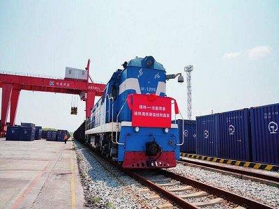 """""""石来运转""""桂林海铁联运班列让西部矿粉走向全国,走出国门!"""