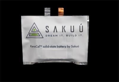 Sakuú公司3D打印3Ah锂固态电池