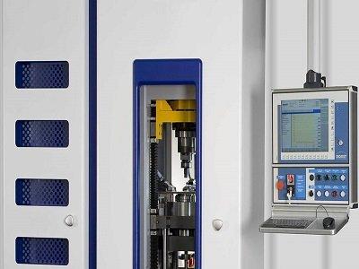 一种中模旋转的粉末冶金DORST压机