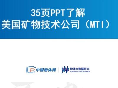35页PPT了解美国矿物技术公司(MTI)