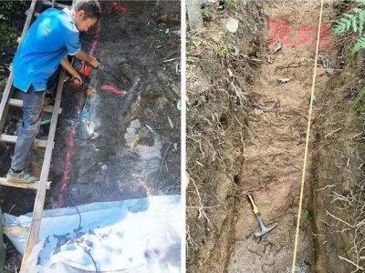 陕西汉中洋县新发现4条晶质石墨矿带