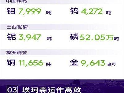 洛阳钼业:2021上半年营收超过848亿 净利润同比增长139%