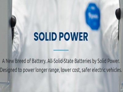 Solid Power扩大工厂规模 明年年初启动固态电池试生产