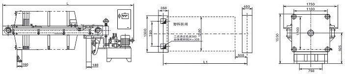 厢式压滤机  基本概述   厢式压滤机工作原理板框式的滤室有一块平板