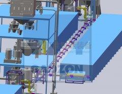 物料转运循环输送系统的图片