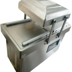 阿凡佬食品双室真空机封口机 双室真空包装机 非标食品真空机订做的图片