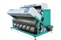 国内首款粉料矿石色选机 20目-120目细小颗粒专用色选机 精度高