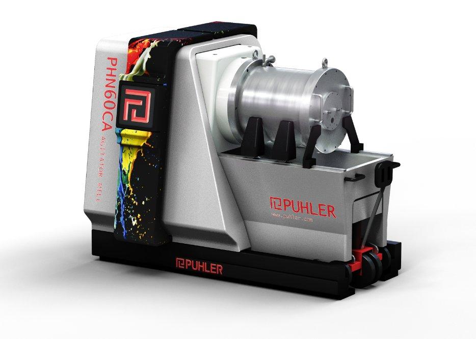 派勒PUHLER锂电池砂磨机的图片