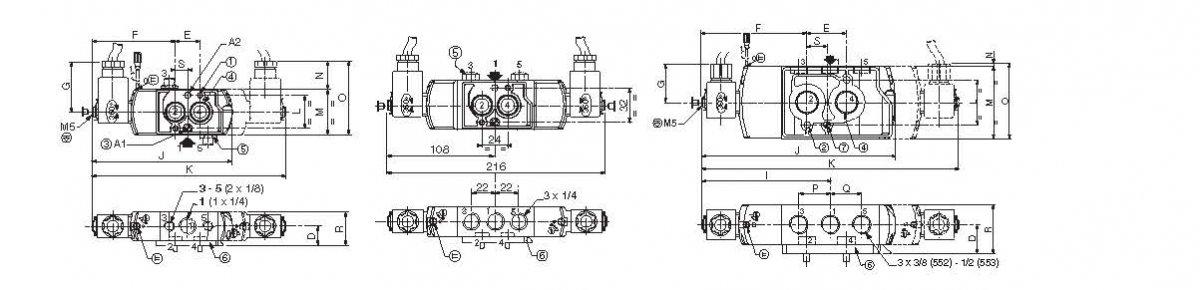 二位五通防爆电磁阀,美国asco电磁阀膜片图片