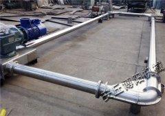 90°管链式输送机、垂直管链输送机长度