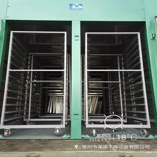 龙溪干燥制作热风烘箱   粉体设备专用静态烘干机图片