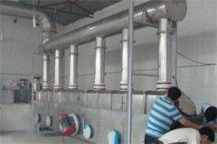 湿硫铵卧式振动流化床干燥机的图片