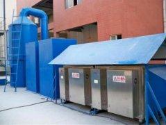 光催化有机废气处理的图片