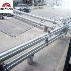 PVC塑料粉管链上料机 粉体管链输送系统的图片
