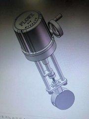 电动针型高压调节阀双相钢 2205应用于海水淡化
